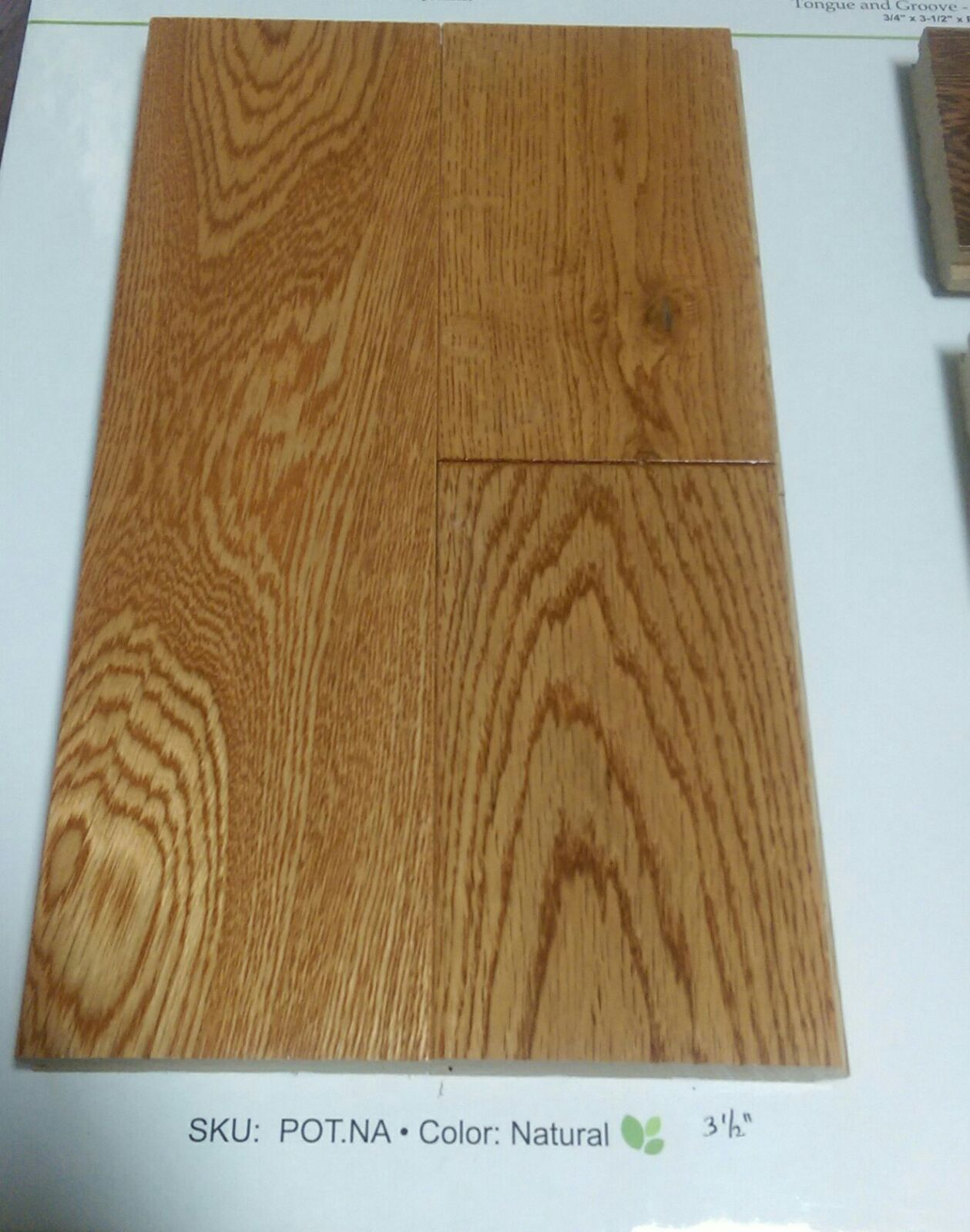 Solid European White Oak