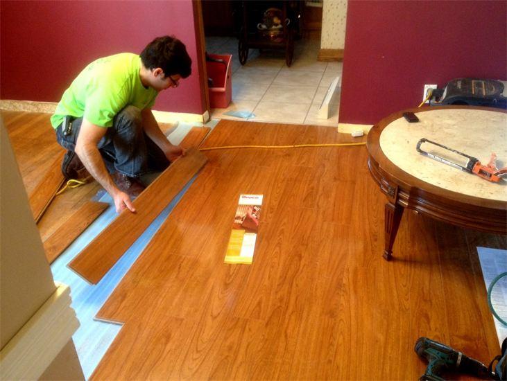 Laminate flooring nyc laminate floor installation new for Laminate flooring estimate