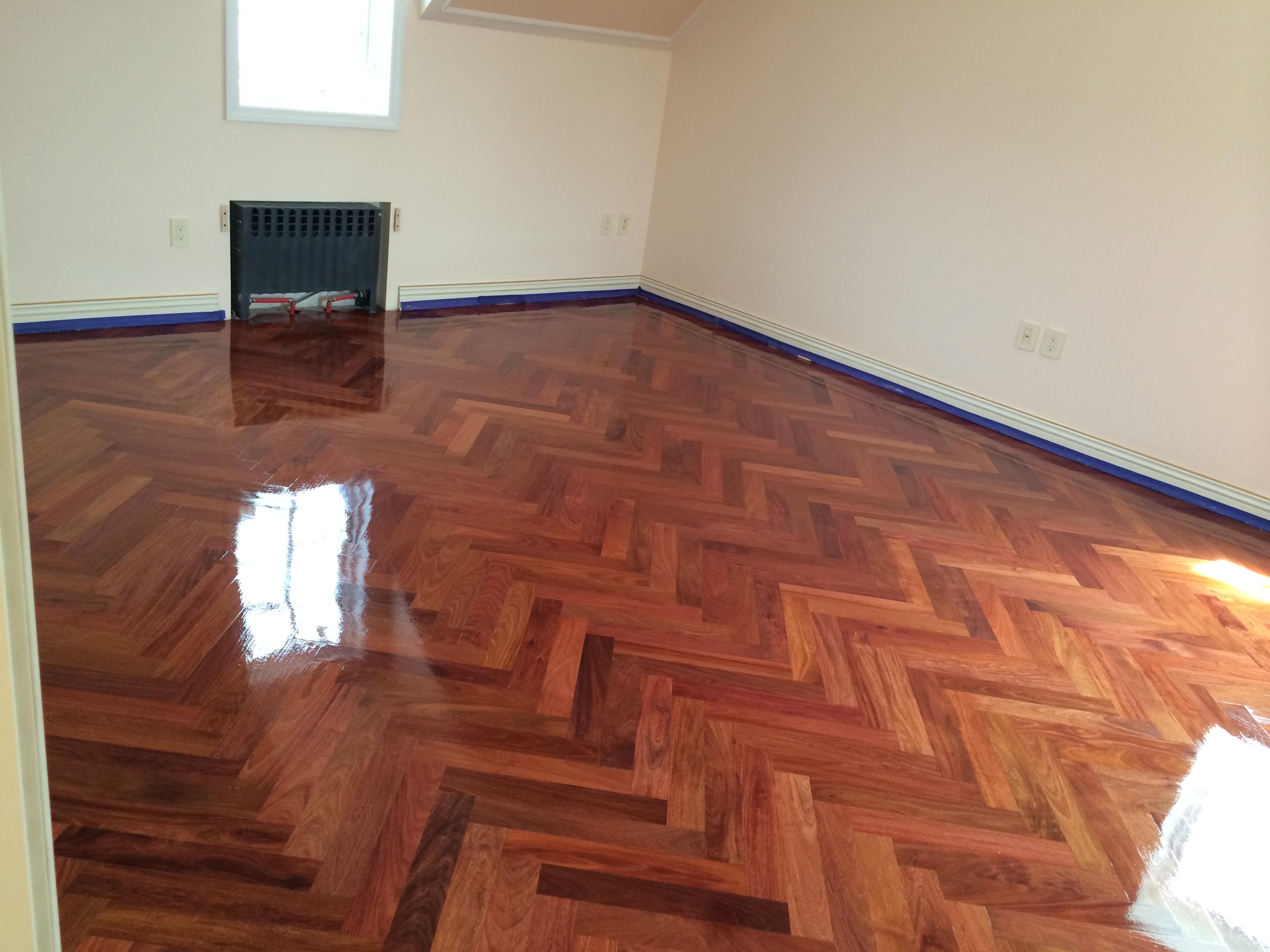 custom parquet floors kings point