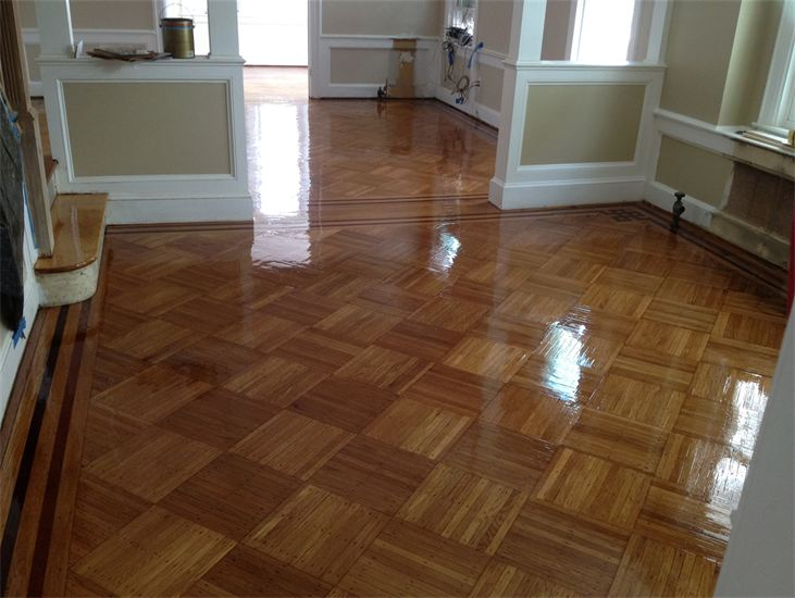 Parquet flooring custom parquet wood floors and parquet for Parquet wood flooring